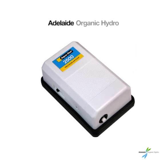 Air Pump AquaOne 2500 Hydroponics Supplies 1