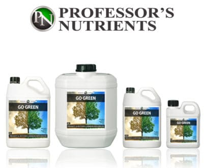 Go Green by Professor's Nutrients