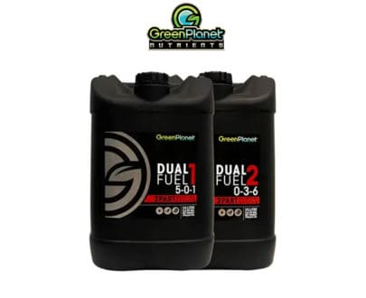 Green Planet Dual Fuel 1 and 2 25L Hydroponic Nutrients