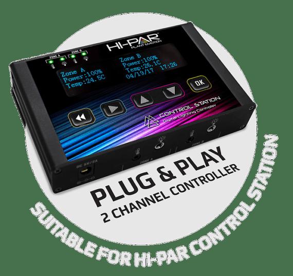 HI-PAR 600W Controllable Ballast 4