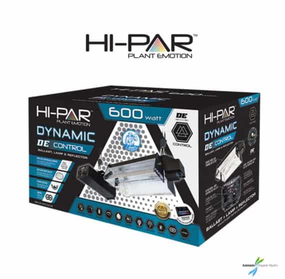 Hi-Par 600W Dynamic DE Control Kit Grow Lights Hydroponic Adelaide