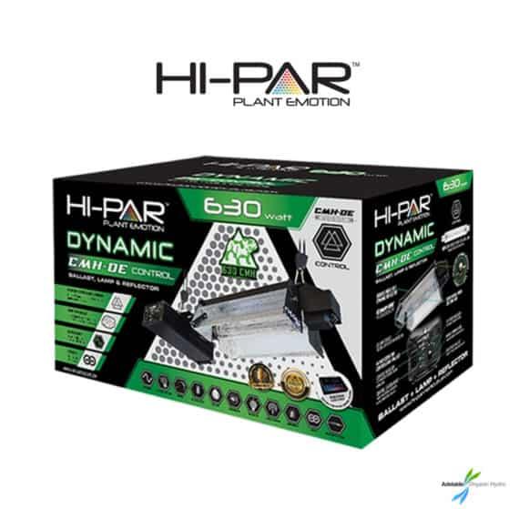 Hi-Par 630W Dynamic DE Control Kit Grow Lights Hydroponics Adelaide