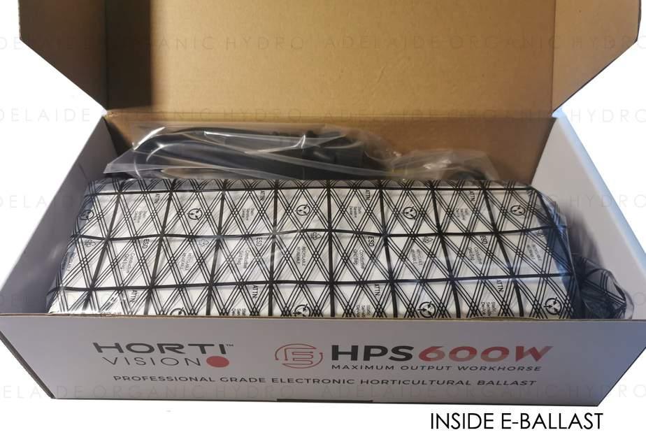 Hortivision HPS Grow Light Kit - E Ballast Inside