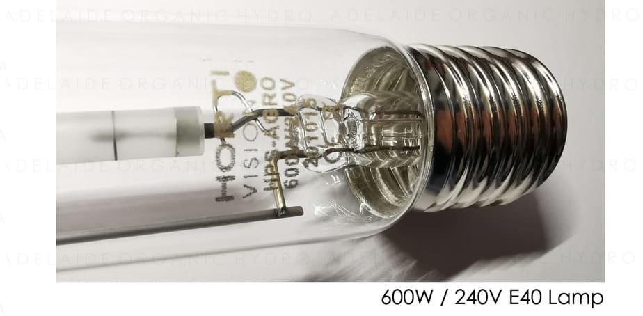 Hortivision HPS Grow Light Kit - Lamp
