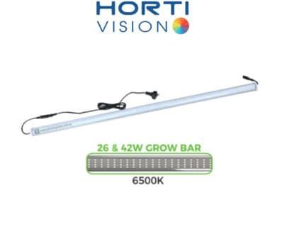 Hortivision T-LED Bar Propagation 26W 540mm Grow Lights