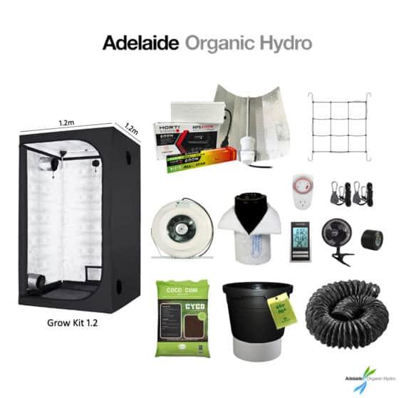 Hydroponic Tent Kit - Grow Kit 1.2 - Hydro Supplies - Adelaide Organic Hydro Australia
