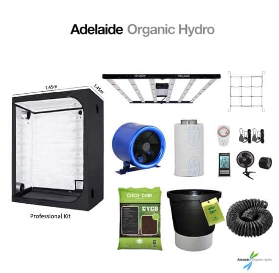 Hydroponic Tent Kit - Professional Kit - Hydro Supplies - Adelaide Organic Hydro Australia