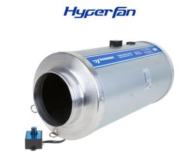 Hyper Fan Silenced V2 Hydroponics