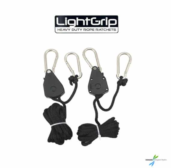 Light Grip Heavy Duty Rope Rachet Hydroponic Supplies