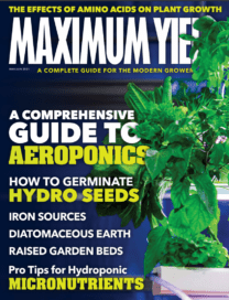 Cannabis Maximum Yield Magazine May - June 2021