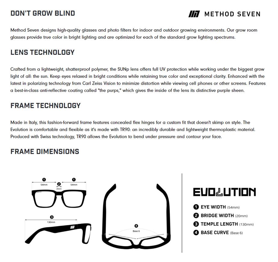 Method Seven Evolution SUN Polarized Sunglasses for Growing Cannabis 6