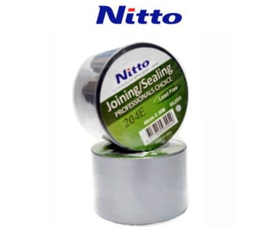Nitto Joining Sealing 204E Silver Tape Lead Free Hydroponic Supplies Australia