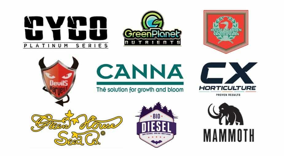 Nutrient Brands Hydroponic Supplies