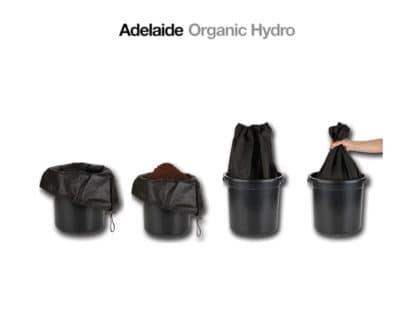Pot Sox for Indoor Hydroponics Growing Cannabis