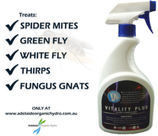 Vitality Plus Spider Mites Green Fly White Fly Thirps Fungus Gnats